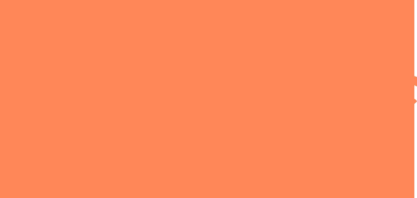 Brooklyn Filmmakers Collective Graphic Logo In Orange